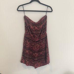 Aztec Forever 21 Strapless Dress